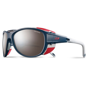 Julbo Exp*** 2.0 Spectron 4 Lunettes de soleil, matt blue/red-brown flash silver